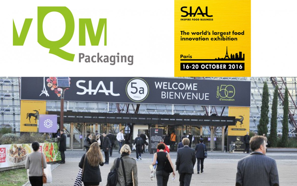vQm at the SIAL International Food Exhibition in Paris
