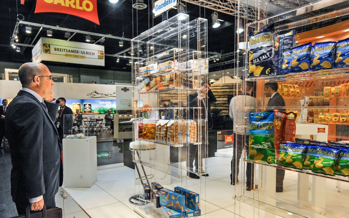 vQm at the Anuga exhibition in Cologne